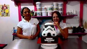 starwars stormtrooper birthday cake by candy box c youtube