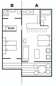 floor plan couch floor plans pine lodge