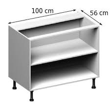 meuble cuisine 100 cm meuble caisson bas largeur 100 vial menuiserie cuisine jardin