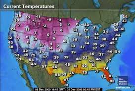 us weather map today temperature weather map us temperatures