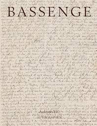 bassenge buchauktion 110 autographen by galerie bassenge issuu