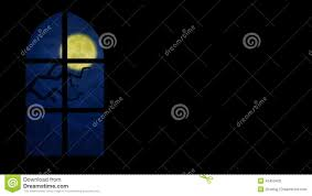 animated halloween ghost at the window stock footage video 45459402
