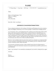 Exceptional Cover Letter Communications Supervisor Cover Letter