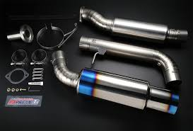 nissan 350z test pipes expreme ti