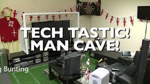 ultimate football man cave youtube