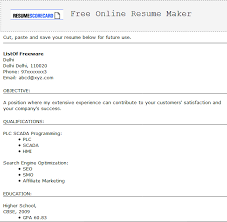 Free Resume Builder And Save 9 Best Free Resume Building Software For Windows