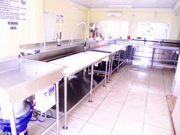 Residential Stainless Steel Kitchen  Bath Counter Tops And Sinks - Fish cleaning table design