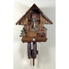 1 day cuckoo clocks wind daily clockshops com