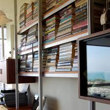 Wall Bookshelves by Decor Shelving Systems Wall Mounted Rakks Shelving Brackets