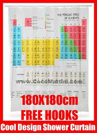 Amazing Deal On Periodic Table Shower Curtain Kids Children Penny Serial Ape Ist In Shower Scene The Big Bang Theory
