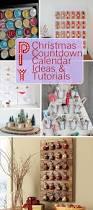 diy christmas countdown calendar ideas u0026 tutorials 2017