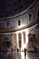 pantheon rome italy great buildings architecture