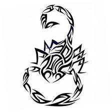 image blck tribal scorpion tattoo jpg deadliest fiction wiki