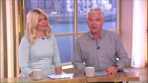 lucy and anna decinque before holly willoughby u0027s son pushes phillip schofield in a swimming pool