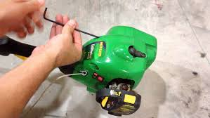 weedeater string pull repair string won u0027t recoil featherlite