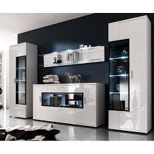 Buffet Salon Blanc Laque by Cuisine Placard Meuble Tv Meubles De Rangements Pour Le Salon