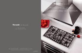 Thermadore Cooktops Cooktops U0026 Ventilation Sales Folder Thermador Pdf Catalogues