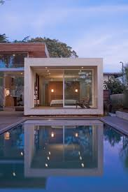 modern home designs romantic outdoor pool decor with deck showing