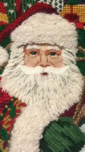 1533 Best Needlepoint Santas Images On Pinterest Needlepoint