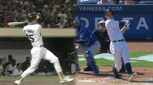 Aaron Judge Breaks Mlb Rookie Record With 50th Home Run Rolling Stone - mark mcgwire congratulates aaron judge mlb com