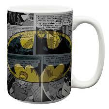 dc comics large coffee mug batman batman