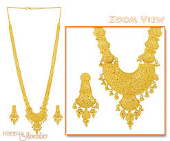 gold rani haar sets indian bridal necklace set gold jewelry
