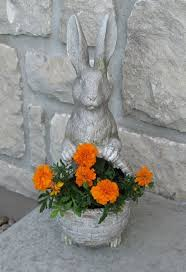 Garden Rabbits Decor 12 Best Easter Bunnies Images On Pinterest Easter Decor Bunny