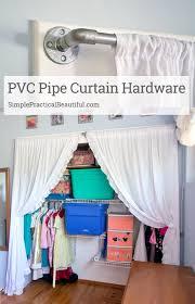 Pvc Patio Furniture Parts - pvc curtain hardware simple practical beautiful