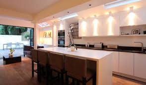kitchen lighting under cabinet and kitchen island blue led strip