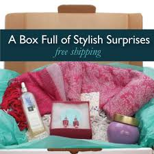 gift of the month small one time box box and gift