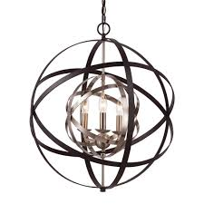 bronze and silver light fixtures bel air lighting monrovia 3 light rubbed oil bronze and antique