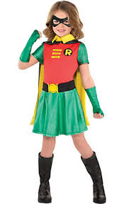 Robin Halloween Costumes Toddler Girls Superhero Costumes Party