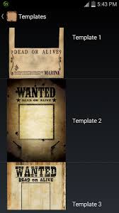 wanted poster android apps on google play