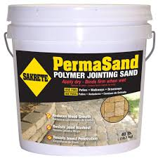 Lowes Polymeric Paver Sand by Sakrete Permasand 40 Lb Paver Joint Sand 65470004 The Home