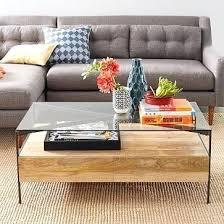 west elm wood coffee table west elm wood coffee table box frame coffee table glass west elm