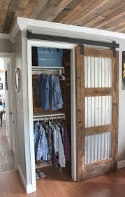 How To Make A Sliding Interior Barn Door 20 Diy Barn Door Tutorials Sliding Door Corrugated Tin And Barn