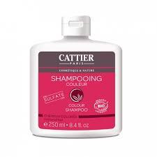 parashop siege social cattier shampooing couleur pour cheveux colores bio 250ml