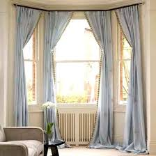 window drapes bay window drapes images bay window curtains stylish curtain for