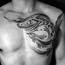 100 brush stroke tattoo designs for men painted ideas