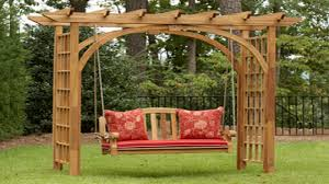 work chairs pergola swing kits garden swing with pergola garden