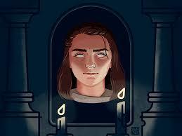 Arya Goes Blind Arya Stark Game Of Heads By Elina Novak Dribbble