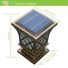 replacement solar panels for garden lights new solar lights china ce 4w solar led garden lighting with solar