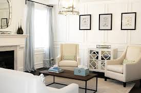 Wall Wainscoting Full Wall Wainscoting Living Room Contemporary With Frame And