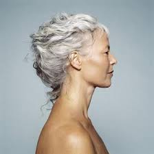 glamorous styles for medium grey hair grey glamorous boucleme
