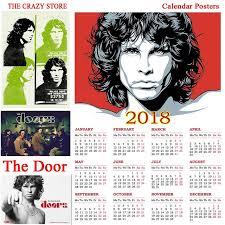 aliexpress buy size 7 10 vintage retro cool men the door 2018 calendar rock poster vintage retro antique poster
