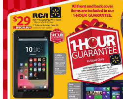 walmart android tablet walmart rca 7 inch android tablet for 29 on black friday deals