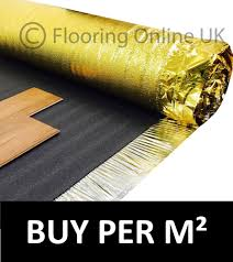 Foam Underlay For Laminate Flooring Laminate Underlay Ebay