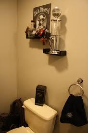 bathroom my husbands cowboy whiskey themed bathroom i used an