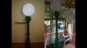sesame street balloon lamp post balloon decoration tutorial how to