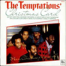 temptations christmas album the temptations the temptations christmas card vinyl lp album